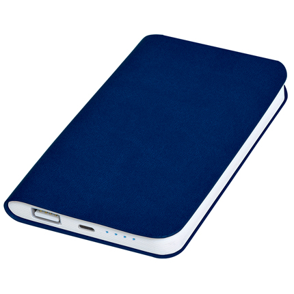 "Универсальное зарядное устройство ""Softi"" (4000mAh), цвет тёмно-синий"