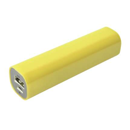 Внешний аккумулятор Easy Shape 2000 мАч, жёлтый
