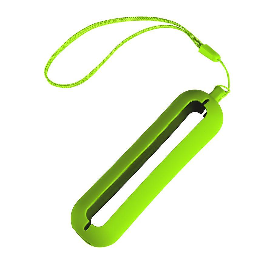 """Обложка с ланъярдом к зарядному устройству """"Seashell-1"""", зелёное яблоко"""