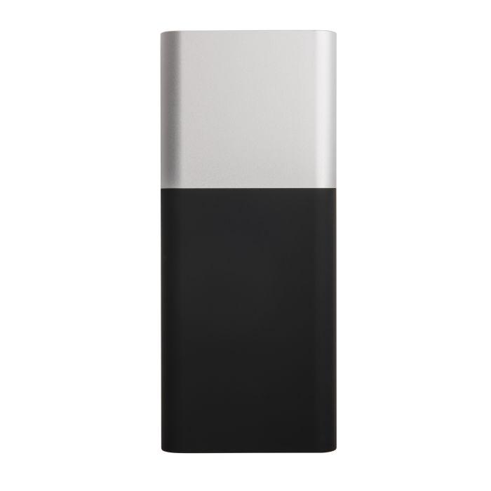 """Универсальное зарядное устройство """"Black gun"""" (10000 mAh), цвет чёрный с серебристым"""
