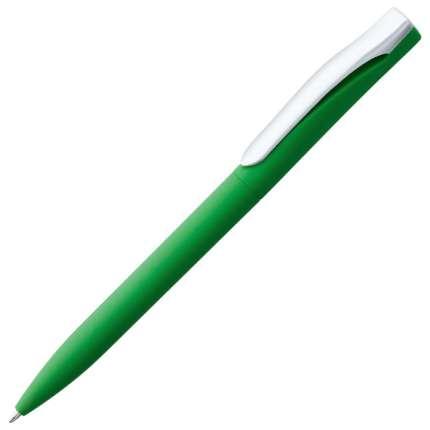 Ручка шариковая Pin, с покрытием SOFT TOUCH, зелёная