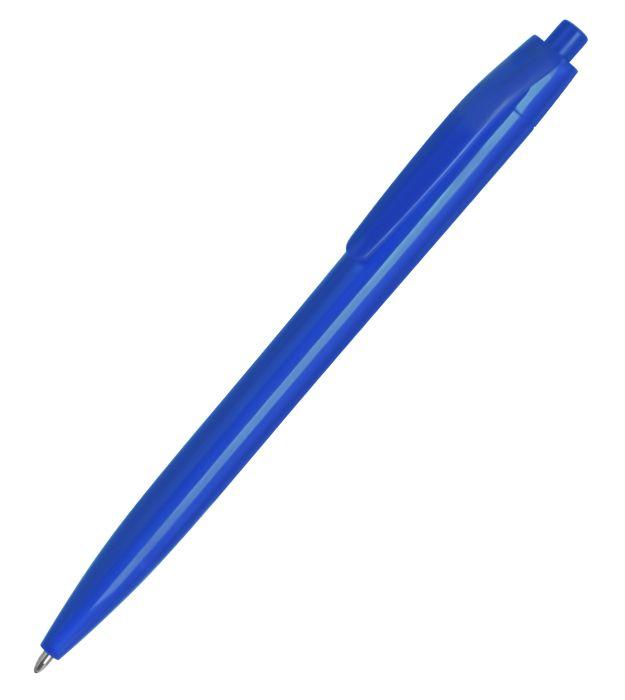 Ручка пластиковая шариковая N6, цвет синий