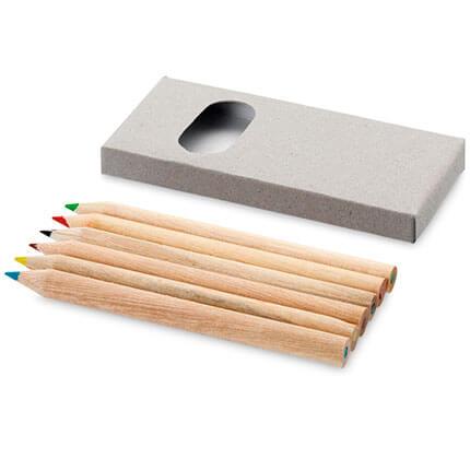 """Набор из 6 цветных карандашей """"Набросок"""""""