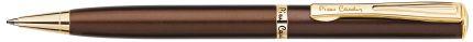 Шариковая ручка Pierre Cardin ECO, цвет корпуса коричневый металлик