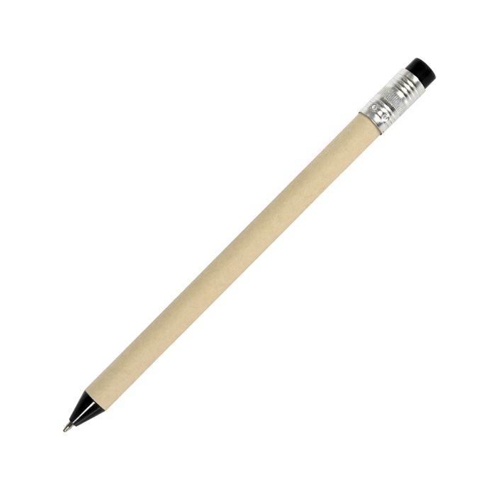 Ручка шариковая N12, цвет бежевый с чёрным