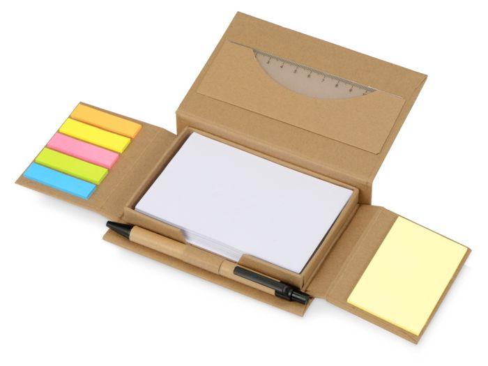 """Канцелярский набор для записей """"Stick box"""""""