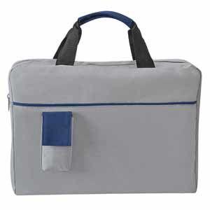 "Конференц-сумка ""Sense"" с карманом, цвет синий"