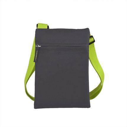 """Сумка для документов """"ACTIVE"""" с карманом на молнии, цвет зеленый"""