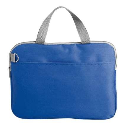 """Конференц-сумка """"Тодес-2"""" с отделением для ноутбука, цвет синий"""