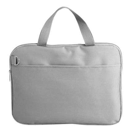 """Конференц-сумка """"Тодес-2"""" с отделением для ноутбука, цвет серый"""