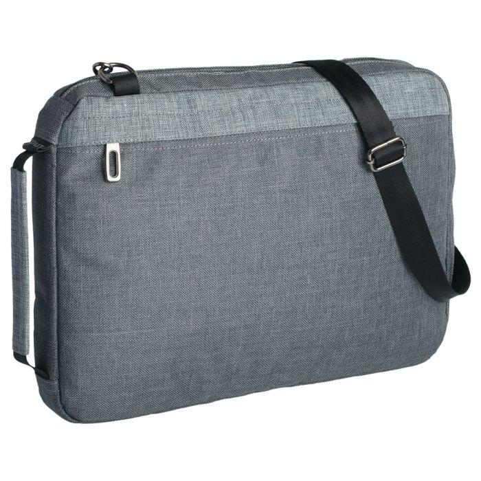 Конференц-сумка 2 в 1 twoFold, серый с тёмно-серым