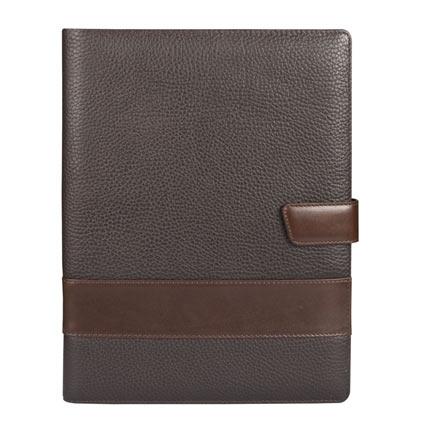 Папка Alvaro (бренд Matteo Tantini), коричневая