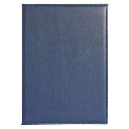 Папка адресная Brand, размер 22,5х31 см (формат A4), цвет синий