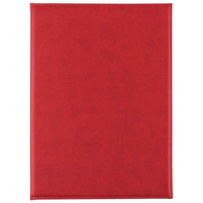 Папка адресная Brand, размер 22,5х31 см (формат A4), цвет красный