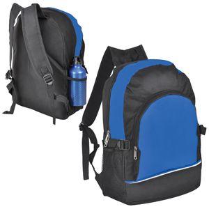 """Рюкзак """"ХИТ"""", цвет черный с синим"""