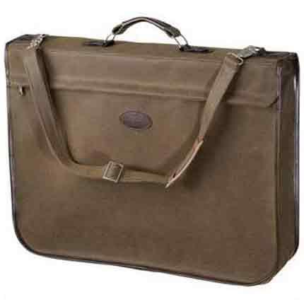 Чехол для одежды, складывающийся в кейс, коричневый