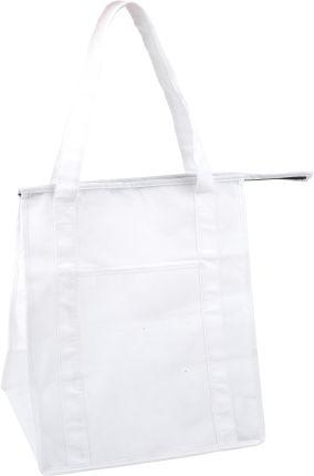 Сумка для покупок на молнии, цвет белый