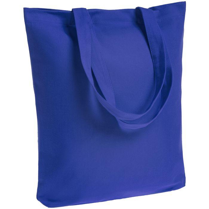 Холщовая сумка Avoska, ярко-синяя