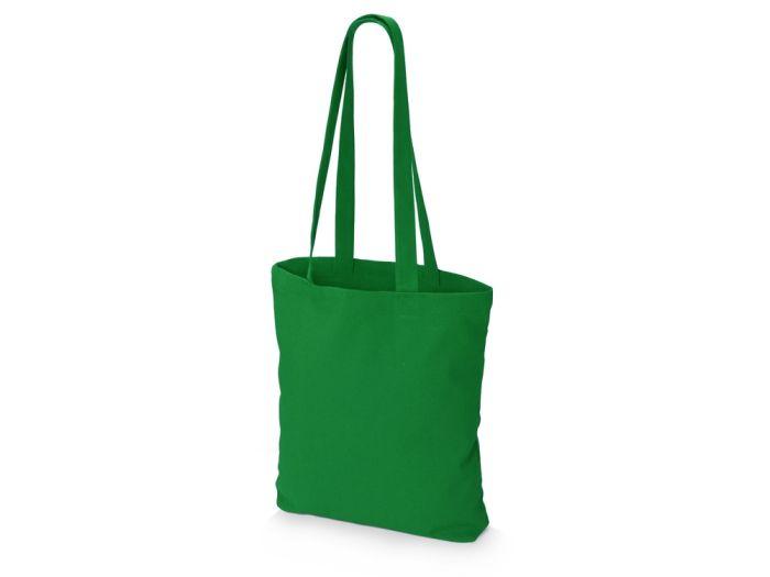 """Шоппер из плотного хлопка """"Carryme 220"""", цвет зелёный"""