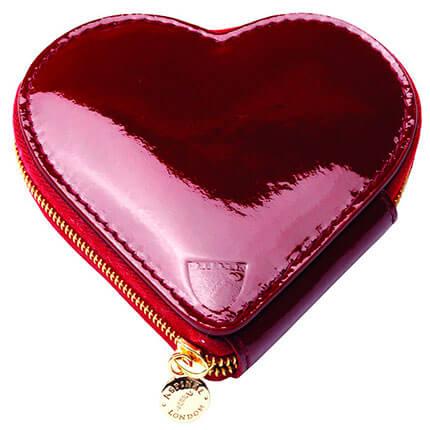 """Кошелек для монет """"Сердце"""", цвет красный"""