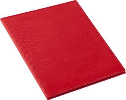 """Обложка для паспорта """"Twill"""", красная"""