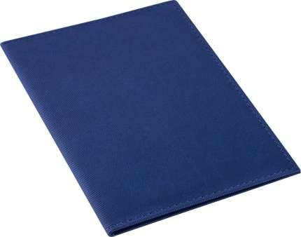"""Обложка для паспорта """"Twill"""", синяя"""