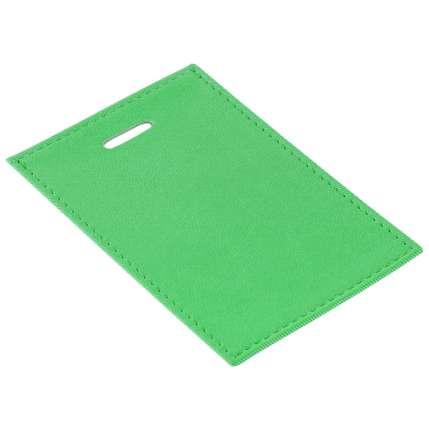 Чехол для пропуска Twill, зелёный