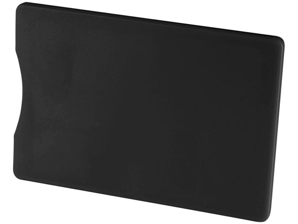 Чехол для кредитных карт с защитой от сканирования (RFID), чёрный
