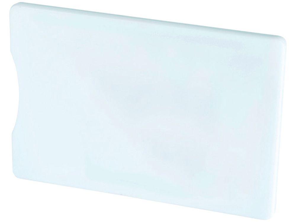 Чехол для кредитных карт с защитой от сканирования (RFID), белый
