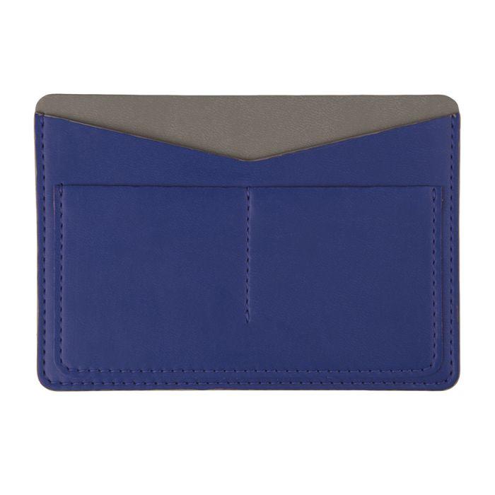 Холдер для паспорта и карт EMOTION, коллекция ITEMS, цвет синий