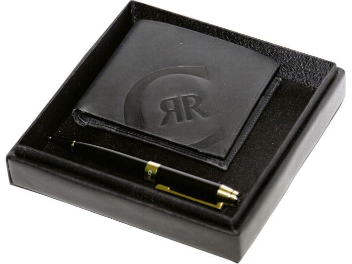 Подарочный набор: портмоне, ручка шариковая. Cerruti 1881