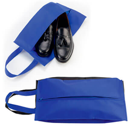 """Футляр для обуви на молнии """"HAPPY TRAVEL"""", цвет синий"""