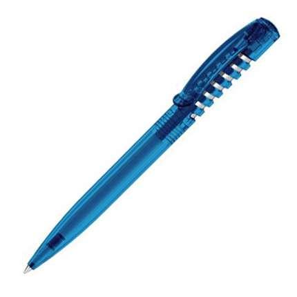 Ручка шариковая Senator, модель New Spring Clear (2426), цвет голубой