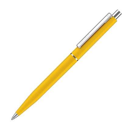 Ручка шариковая Senator, модель Point Polished (3217), цвет жёлтый 7408