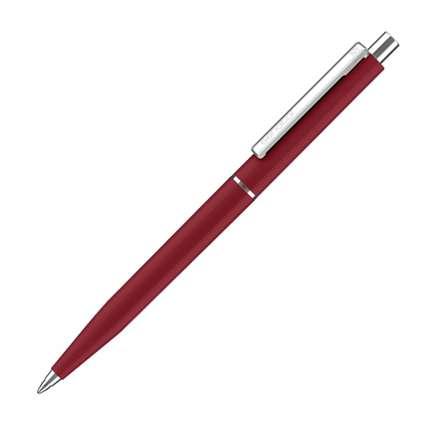 Ручка шариковая Senator, модель Point Polished (3217), цвет тёмно-красный. Pantone 202С