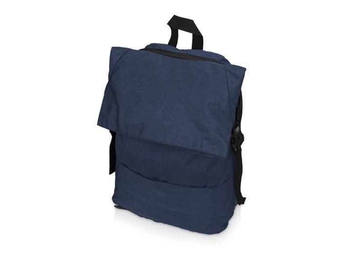 Рюкзак Shed водостойкий с двумя отделениями для ноутбука 15 дюймов, синий
