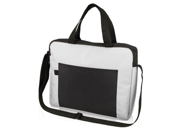 Конференц сумка для документов Congress, Белый черный