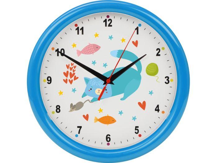 """Часы настенные разборные """"Idea"""", цвет голубой"""
