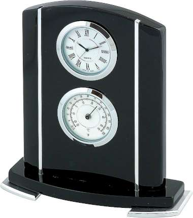 Часы настольные с термометром, Linea del Tempo, (A9122R)