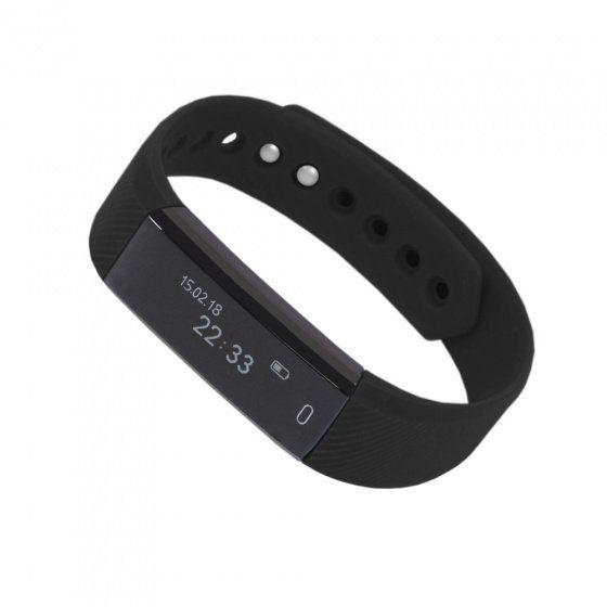 """Смарт браслет (""""умный браслет"""") Portobello Trend, Only, электронный дисплей, черный"""