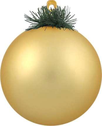 """Украшение """"Шар"""", диаметр 10 см, цвет золотой"""