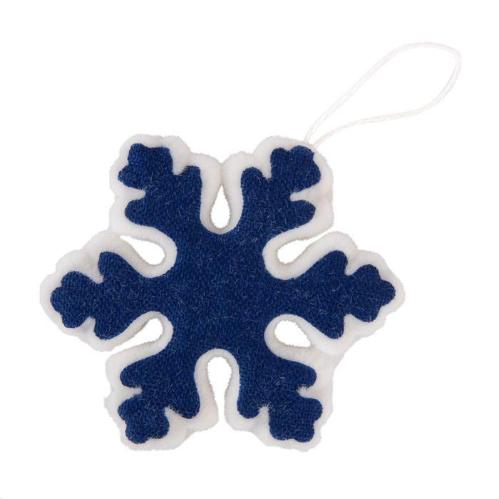 """Украшение новогоднее """"Snowflake"""", цвет синий"""