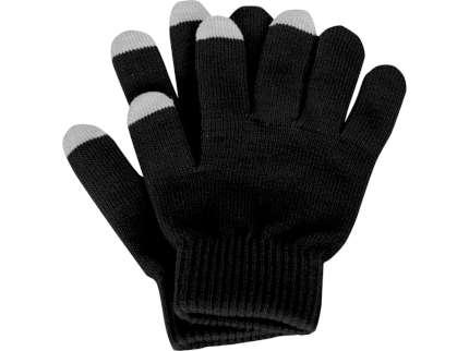 """Перчатки для сенсорного экрана """"Сет"""", цвет чёрный, размер L/XL"""