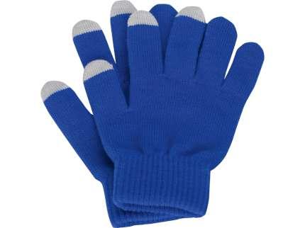 """Перчатки для сенсорного экрана """"Сет"""", цвет синий, размер L/XL"""
