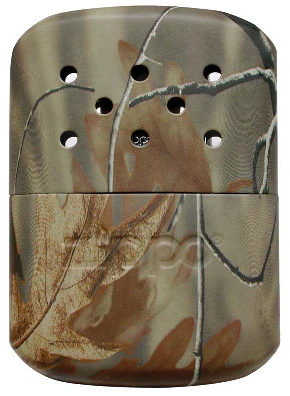 Каталитическая грелка ZIPPO, на 12 ч, матовая, цвет камуфляж