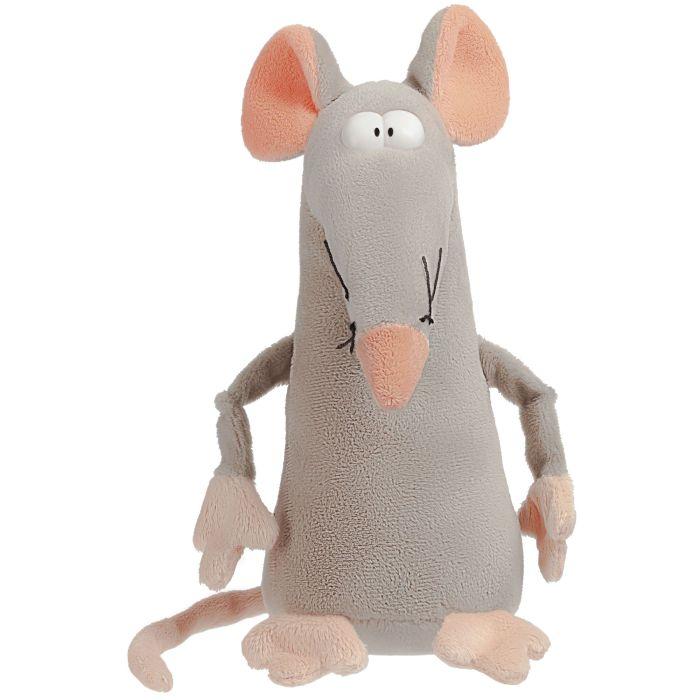 """Мягкая игрушка """"Мышонок Dude"""", цвет серо-розовый"""