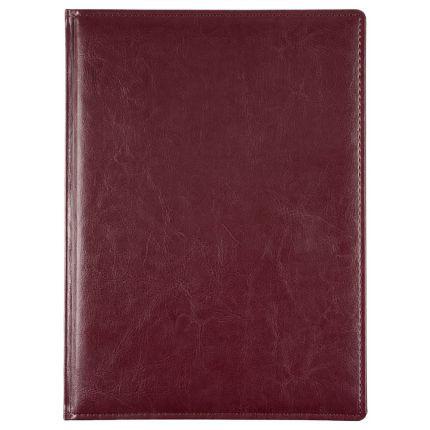 Еженедельник датированный Nebraska, формат A4, цвет бордовый