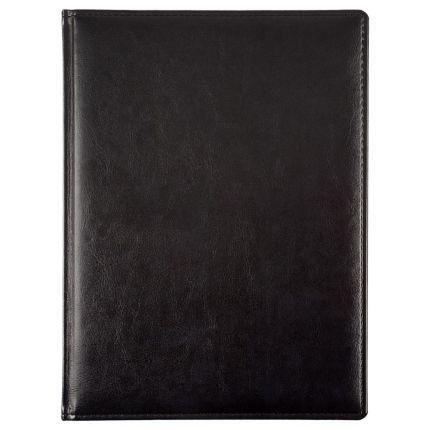 Еженедельник датированный, материал Nebraska, формат A4, цвет черный