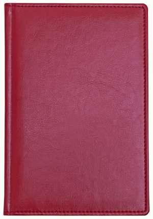 Ежедневник датированный, формат A5 (11.121-А223), Небраска, цвет бордовый