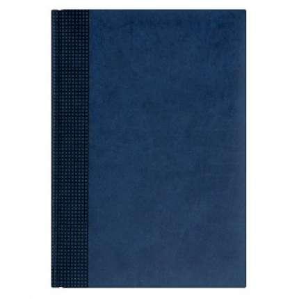 Ежедневник NG датированный VELVET 5450 (650), 145x205 мм, синий, белый блок